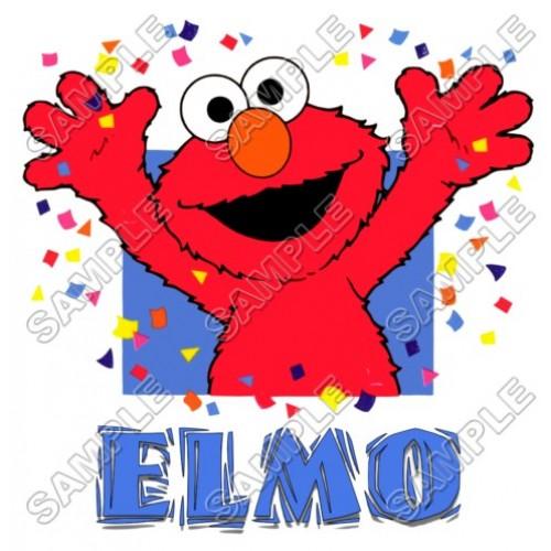 Elmo Birthday T Shirt Iron on Transfer Decal #7 by www.shopironons.com
