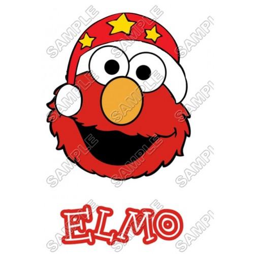 Elmo Christmas T Shirt Iron on Transfer Decal #70 by www.shopironons.com