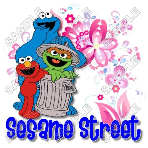 Elmo Sesame Street T Shirt Iron on Transfer Decal #10 by www.shopironons.com
