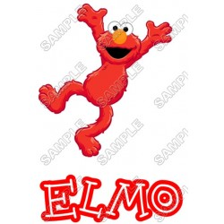 Elmo Sesame street T Shirt Iron on Transfer Decal #19