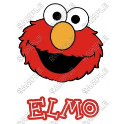 Elmo Sesame Street T Shirt Iron on Transfer Decal #8