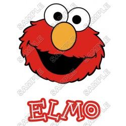 Elmo Sesame Street T Shirt Iron on Transfer Decal #8