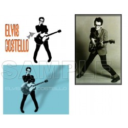 Elvis Costello T Shirt Iron on Transfer Decal #1