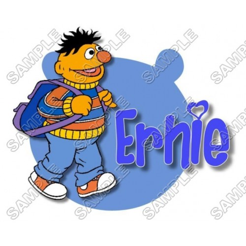 Ernie Sesame street T Shirt Iron on Transfer Decal #16 by www.shopironons.com
