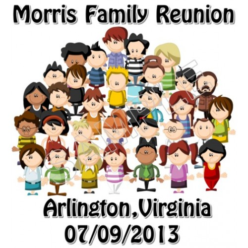 Family Reunion Personalized Custom T Shirt Iron on Transfer Decal #1 by www.shopironons.com