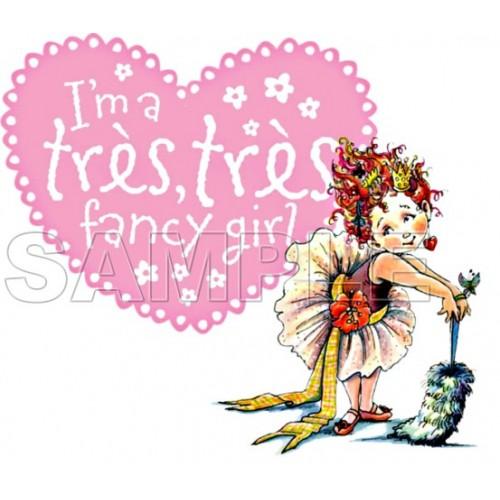 Fancy Nancy T Shirt Iron on Transfer Decal #3 by www.shopironons.com