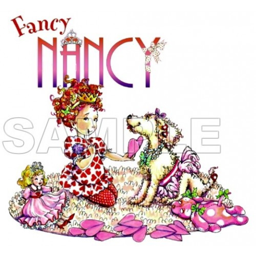 Fancy Nancy T Shirt Iron on Transfer Decal #4 by www.shopironons.com
