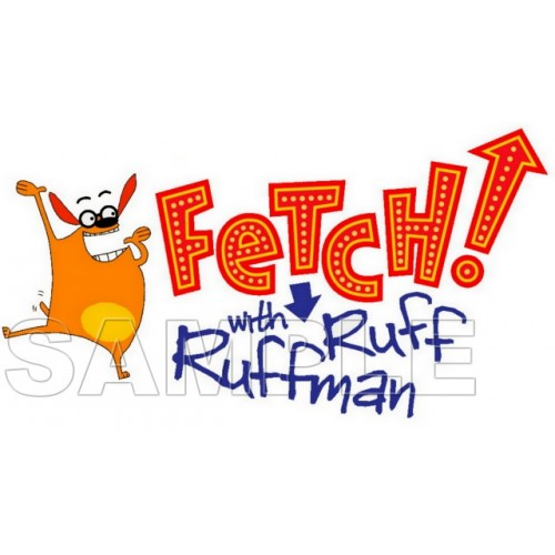 FETCH! and Ruff Ruffman T Shirt Iron on Transfer Decal #1 by www.shopironons.com