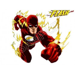 Flash T Shirt Iron on Transfer Decal #2