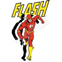 Flash T Shirt Iron on Transfer Decal #39