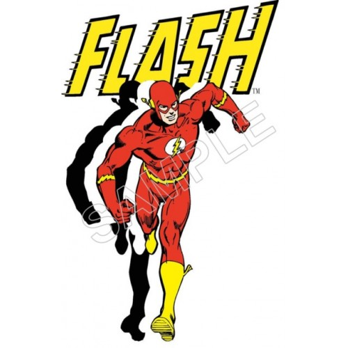 Flash T Shirt Iron on Transfer Decal #39 by www.shopironons.com