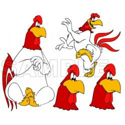 Foghorn Leghorn T Shirt Iron on Transfer Decal #3