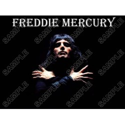 Freddie Mercury Queen T Shirt Iron on Transfer Decal #2