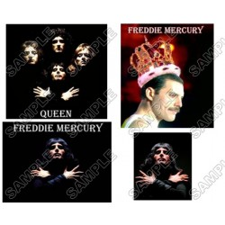 Freddie Mercury Queen T Shirt Iron on Transfer Decal #3