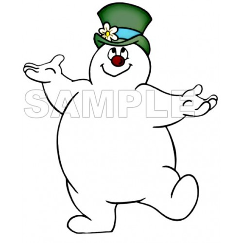 Frosty The Snowman T Shirt Iron on Transfer Decal #1 by www.shopironons.com