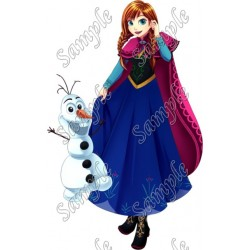 Frozen Anna T Shirt Iron on Transfer Decal #21