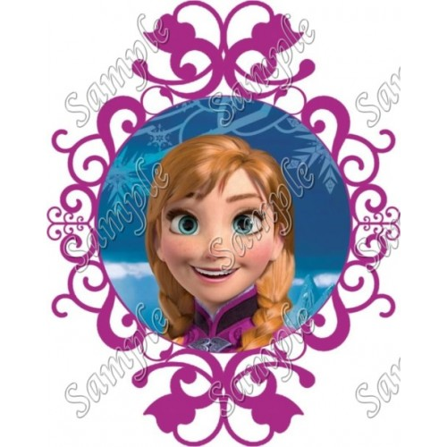Frozen Anna T Shirt Iron on Transfer Decal #48 by www.shopironons.com