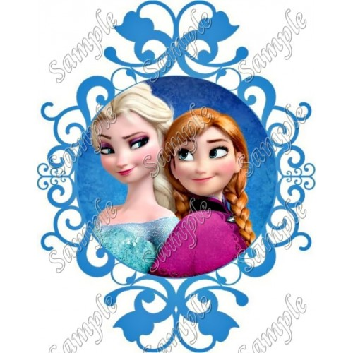 Frozen Elsa and Anna T Shirt Iron on Transfer Decal #152 by www.shopironons.com