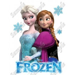 Frozen Elsa Anna T Shirt Iron on Transfer Decal #29