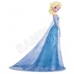 Frozen Elsa T Shirt Iron on Transfer Decal #72