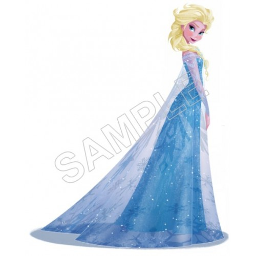 Frozen Elsa T Shirt Iron on Transfer Decal #72 by www.shopironons.com