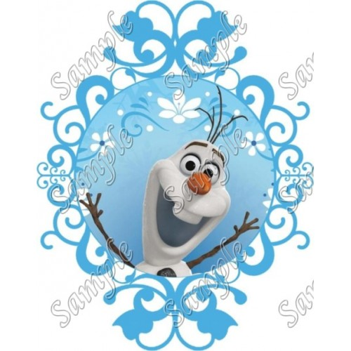 Frozen Olaf T Shirt Iron on Transfer Decal #47 by www.shopironons.com