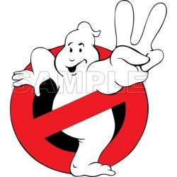 Ghostbusters Logo T Shirt Iron on Transfer Decal #1