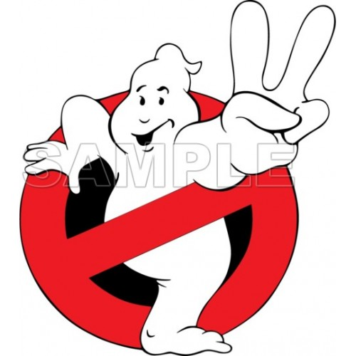 Ghostbusters Logo T Shirt Iron on Transfer Decal #1 by www.shopironons.com