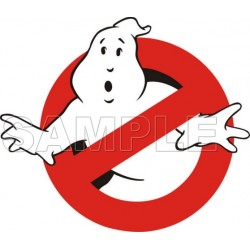 Ghostbusters Logo T Shirt Iron on Transfer Decal #2