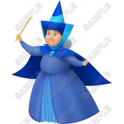 Good fairy godmother Merryweather T Shirt Iron on Transfer Decal #23