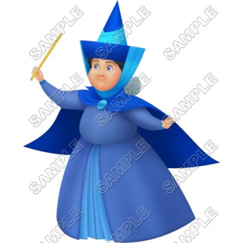 Good fairy godmother Merryweather T Shirt Iron on Transfer Decal #23 by www.shopironons.com