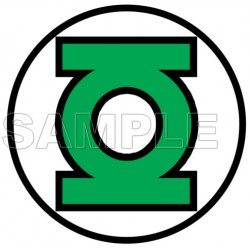 GREEN LANTERN LOGO T Shirt Iron on Transfer Decal #1