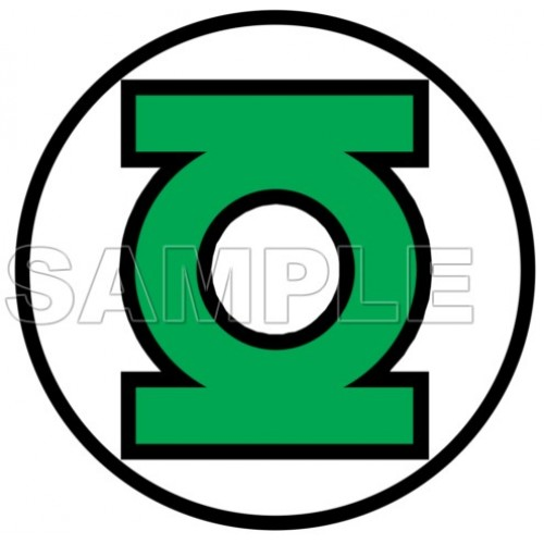 GREEN LANTERN LOGO T Shirt Iron on Transfer Decal #1 by www.shopironons.com