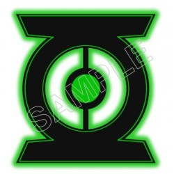 Green Lantern Logo T Shirt Iron on Transfer Decal #2