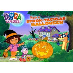 Halloween Dora T Shirt Iron on Transfer Decal #20