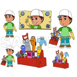 Handy Manny T Shirt Iron on Transfer Decal #1