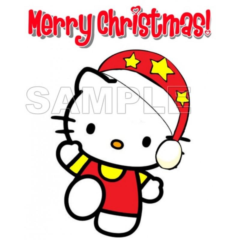 Hello Kitty Christmas.Hello Kitty Christmas T Shirt Iron On Transfer Decal 31