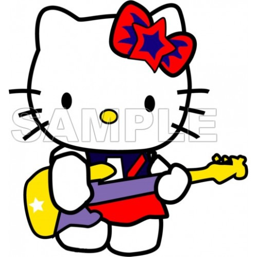 Hello Kitty T Shirt Iron on Transfer Decal #13 by www.shopironons.com