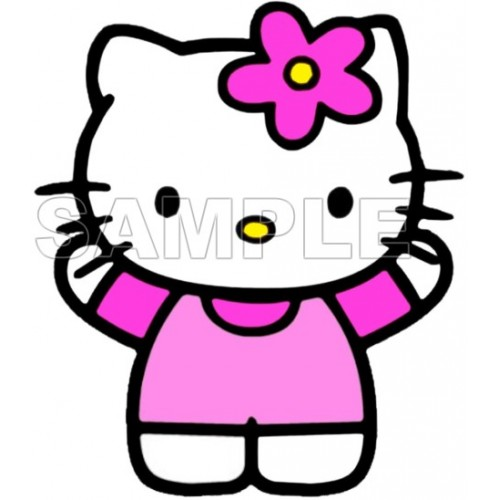 Hello Kitty T Shirt Iron on Transfer Decal #14 by www.shopironons.com