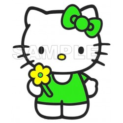 Hello Kitty T Shirt Iron on Transfer Decal #24
