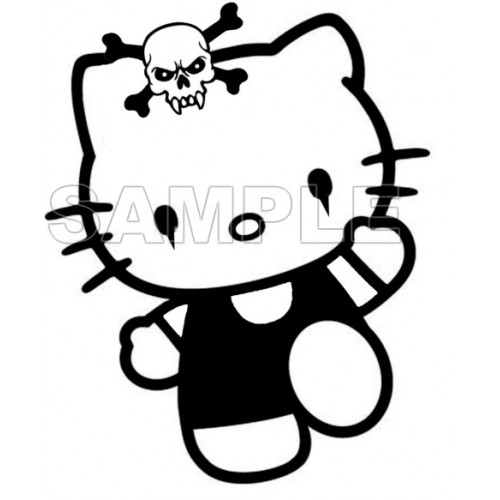 Hello Kitty T Shirt Iron on Transfer Decal #25 by www.shopironons.com