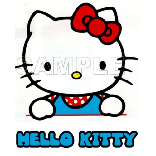 Hello Kitty T Shirt Iron on Transfer Decal #30 by www.shopironons.com