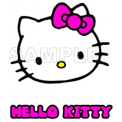 Hello Kitty T Shirt Iron on Transfer Decal #32