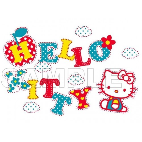 Hello Kitty T Shirt Iron on Transfer Decal #34 by www.shopironons.com