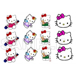 Hello Kitty T Shirt Iron on Transfer Decal #5