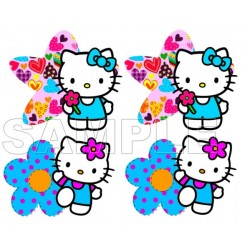 Hello Kitty T Shirt Iron on Transfer Decal #8