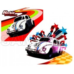 Herbie Fully Loaded T Shirt Iron on Transfer Decal #1