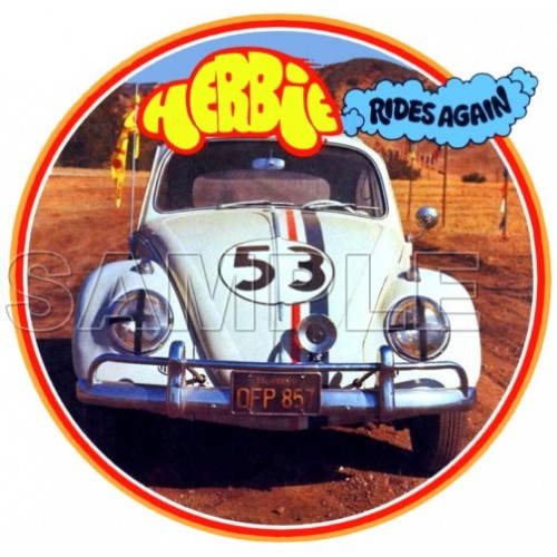 Herbie Fully Loaded T Shirt Iron on Transfer Decal #2 by www.shopironons.com