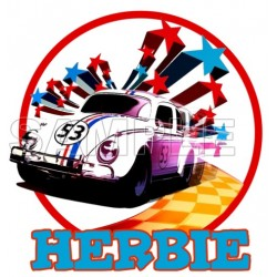 Herbie Fully Loaded T Shirt Iron on Transfer Decal #3