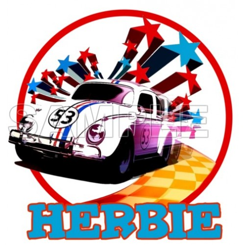 Herbie Fully Loaded T Shirt Iron on Transfer Decal #3 by www.shopironons.com